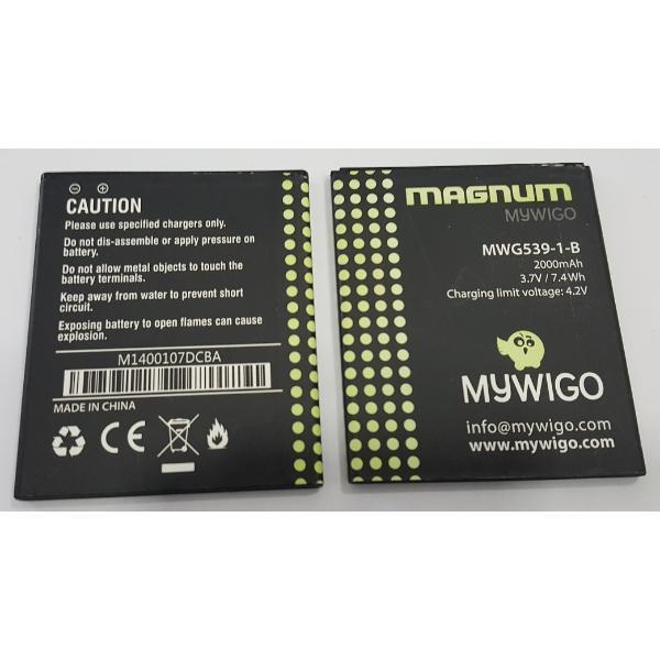 BATERIA ORIGINAL PARA MWG539-1 MAGNUM - RECUPERADA