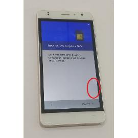 PANTALLA LCD DISPLAY + TACTIL ORIGINAL PARA ZOPO COLOR C3 - BLANCO - RECUPERADA CON TARA