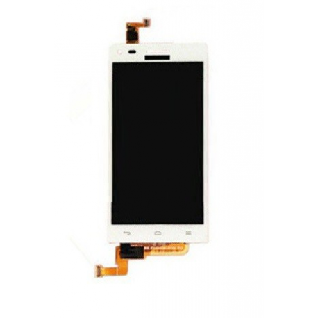 Respuesto Pantalla Lcd + Tactil Huawei Ascend G6 Orange Gova Blanca
