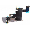 Flex Conector de carga iPhone 6 Gris