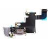 Flex Conector de carga iPhone 6 Gris