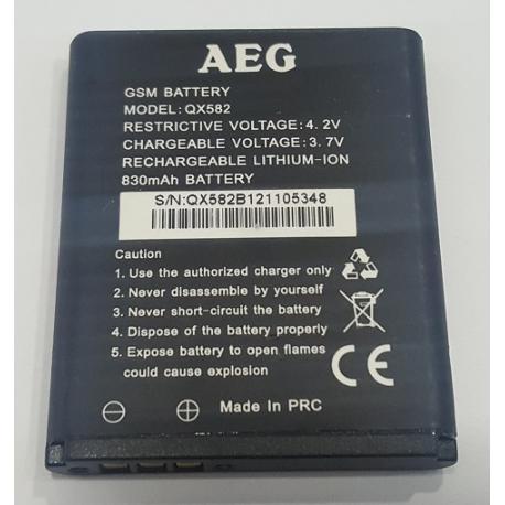 BATERIA ORIGINAL QX582 PARA MOVIL / SMARTPHONE AEG - RECUPERADA