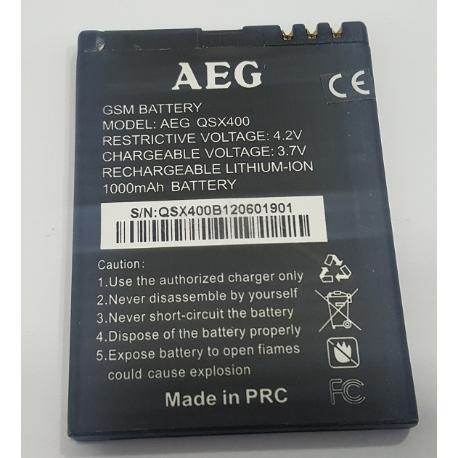 BATERIA ORIGINAL QSX400 PARA MOVIL / SMARTPHONE AEG - RECUPERADA
