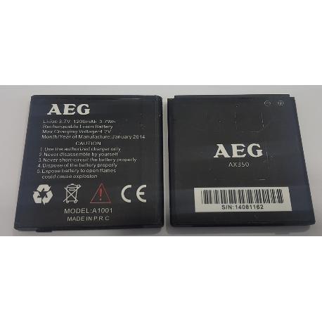 BATERIA ORIGINAL A1001 PARA MOVIL / SMARTPHONE AEG - RECUPERADA