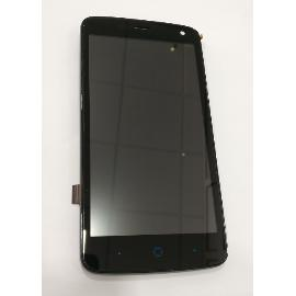 PANTALLA LCD DISPLAY + TACTIL ORIGINAL PARA ZTE BLADE SS C370 - NEGRA - RECUPERADA