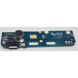 MODULO CONECTOR DE CARGA + MICROFONO ORIGINAL PARA KUBO K5 K45HSG - RECUPERADO