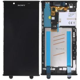 PANTALLA LCD DISPLAY + TACTIL CON MARCO ORIGINAL XPERIA L1 , L1 DUAL NEGRA - RECUPERADA