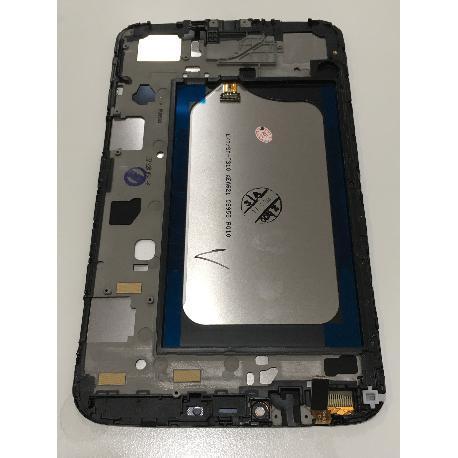 PANTALLA LCD + TACTIL + MARCO ORIGINAL SAMSUNG T311 T315 GALAXY TAB 3 8.0 3G 4G - RECUPERADA BLANCA