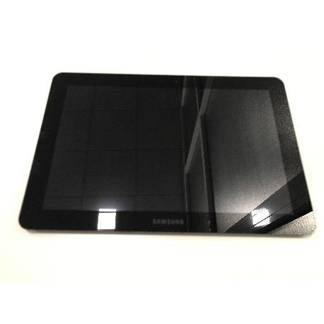 PANTALLA LCD DISPLAY + TACTIL CON MARCO ORIGINAL SAMSUNG GALAXY TAB 10.1 P7500 - RECUPERADA