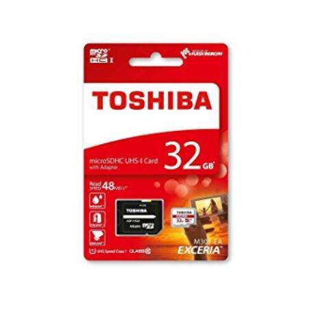 TARJETA DE MEMORIA DE 32 GB CLASE 10 MICROSD TOSHIBA