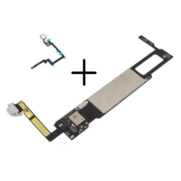 PLACA BASE ORIGINAL MOTHERBOARD IPAD MINI 3 128GB 4G A1600 ( CON BOTON HOME ORO ) - RECUPERADA