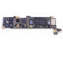 PLACA BASE LOGIC BOARD MOTHERBOARD IPHONE 5S LIBRE 32GB (BOTON HOME BLANCO) - RECUPERADA
