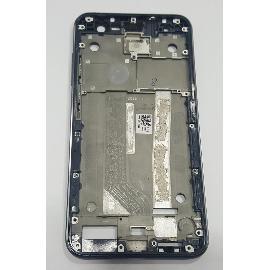 CARCASA FRONTAL DE LCD PARA ASUS ZENFONE 3 (ZE520KL) COLOR AZUL LA CARCASA MARCO FRONTAL DEL LCD + TACTIL CONTIENE