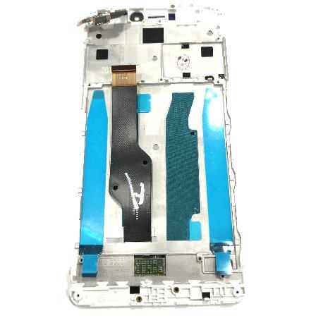 PANTALLA LCD DISPLAY + TACTIL CON MARCO PARA XIAOMI REDMI NOTE 4X - BLANCA