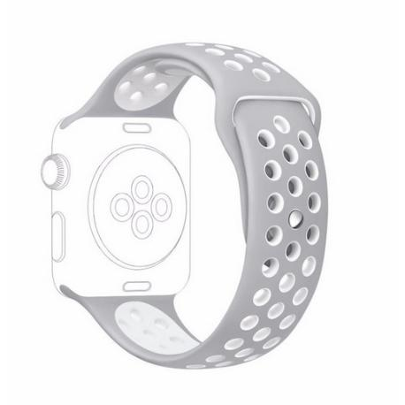 CORREA DEPORTIVA PARA APPLE WATCH - 42 MM - GRIS