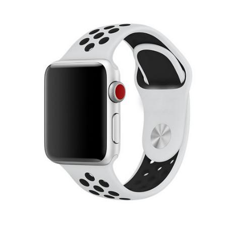 CORREA DEPORTIVA PARA APPLE WATCH - 38 MM - BLANCA