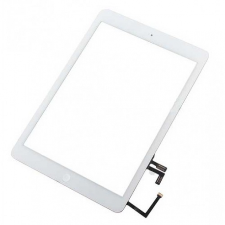 Pantalla Tactil con Flex y Boton home Ipad Air Blanco