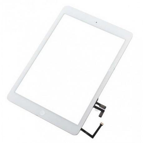 Pantalla Tactil con Flex y Boton home Ipad Air Blanco