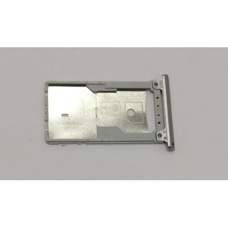 BANDEJA SIM + SD ORIGINAL PARA ASUS ZENFONE 3 LASER ZC551KL - PLATA