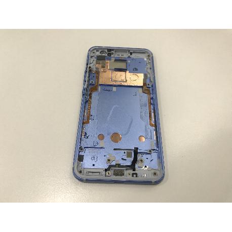 CARCASA FRONTAL AZUL ORIGINAL PARA HTC U11 LIBRE 2PZC100 - RECUPERADA