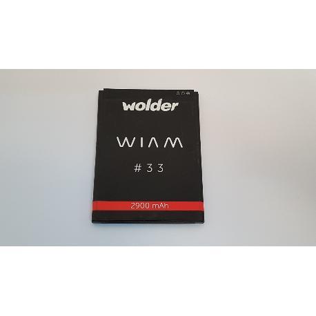 BATERIA ORIGINAL PARA WOLDER WIAM 33 - DESMONTAJE
