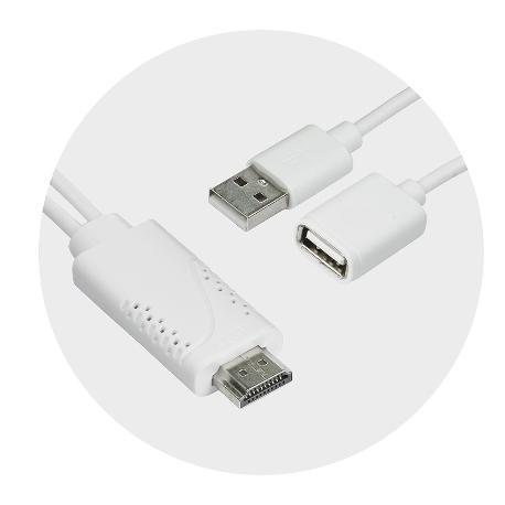 ADACTADOR MHL HDMI 1080P PARA MOVIL / SMARPHONES / TABLET