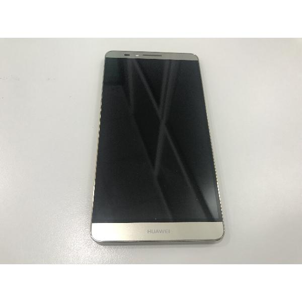 PANTALLA LCD + TACTIL CON MARCO ORIGINAL PARA HUAWEI ASCEND MATE 7 ORO - RECUPERADA
