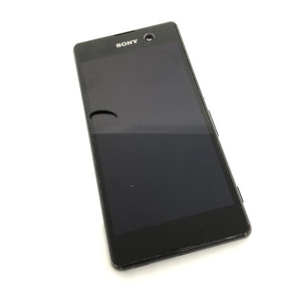 PANTALLA LCD DISPLAY + TACTIL CON MARCO ORIGINAL PARA SONY XPERIA M5 - NEGRA