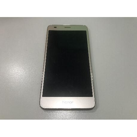 PANTALLA LCD DISPLAY + TACTIL CON MARCO ORIGINAL HONOR 5C, HUAWEI GT3 , HONOR 7 LITE - NEGRA RECUPERADA
