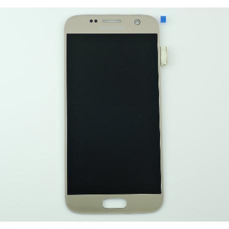PANTALLA LCD DISPLAY + TACTIL ORIGINAL PARA SAMSUNG GALAXY S7 SM-G930F - ORO