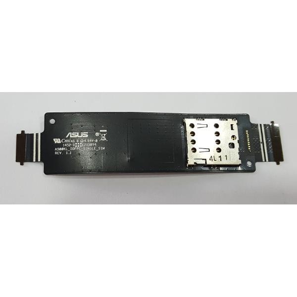 MODULO DE LECTOR 1 SIM  PARA ASUS ZENFONE 5, A500CG, A502CG