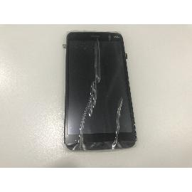 PANTALLA LCD DISPLAY + TACTIL CON MARCO ORIGINAL PARA WIKO SLIDE NEGRA - RECUPERADA