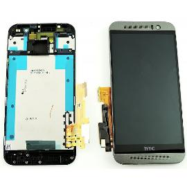 PANTALLA TACTIL + LCD DISPLAY CON MARCO ORIGINAL PARA HTC ONE M9 - NEGRO RECUPERADA