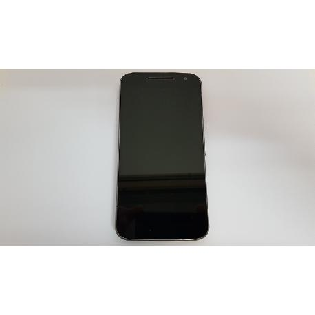 PANTALLA LCD DISPLAY + TACTIL COM MARCO PARA MOTOROLA MOTO G4 XT1622 NEGRA - RECUPERADA