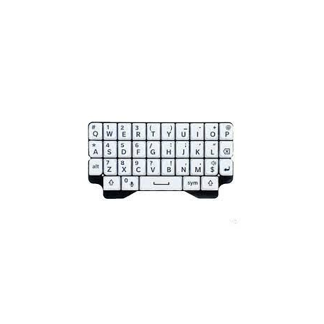 Teclado Original Blackberry Q5 Blanco