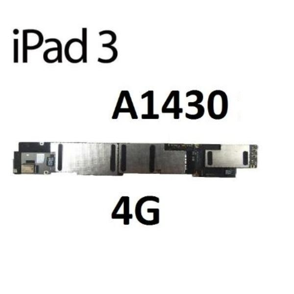 PLACA BASE ORIGINAL APPLE IPAD 3 A1430 WIFI 4G 16GB - RECUPERADA