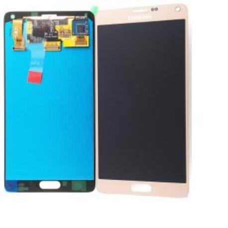 PANTALLA LCD + TACTIL ORIGINAL SAMSUNG GALAXY NOTE 4 SM-N910F DORADA - USADA