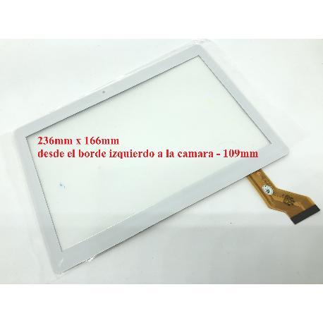 PANTALLA TACTIL TABLET 10.1 PULGADAS -  GT10JTY131 V2.0  - BLANCA