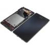 Pantalla lcd + tactil con marco Original Sony Xperia V LT25i negra de desmontaje