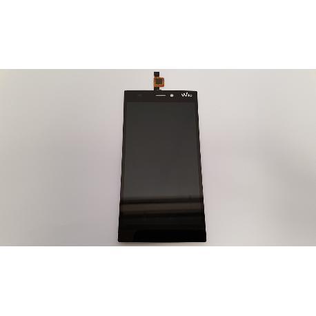 REPUESTO PANTALLA LCD DISPLAY + TACTIL PARA WIKO RIDGE 4G NEGRA - RECUPERADA