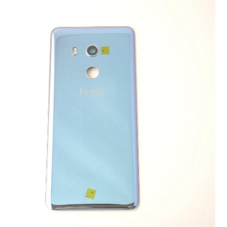 TAPA TRASERA PARA HTC U11 PLUS - AZUL