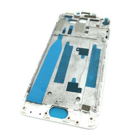 CARCASA FRONTAL DE LCD PARA MEIZU M5 NOTE - BLANCA