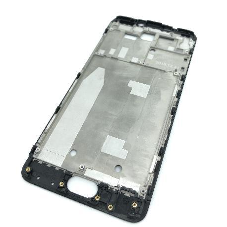 CARCASA FRONTAL DE LCD PARA MEIZU M5 NOTE - NEGRA