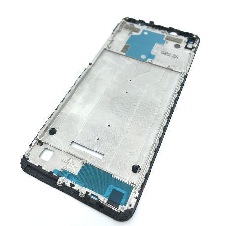 CARCASA FRONTAL DE LCD PARA XIAOMI REDMI NOTE 5 PRO - NEGRA