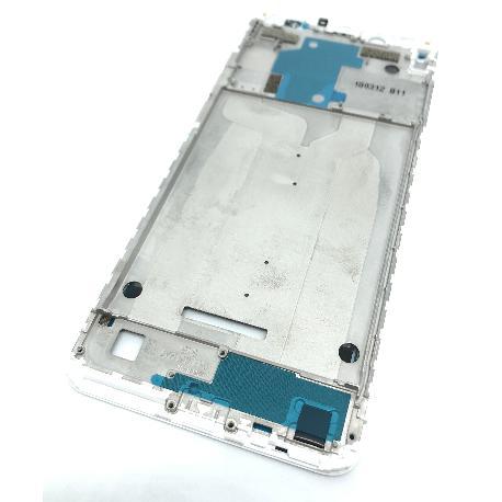 CARCASA FRONTAL DE LCD PARA XIAOMI REDMI NOTE 5 PRO - BLANCA