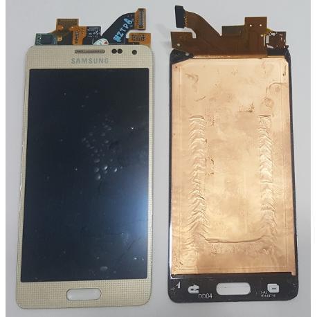 PANTALLA LCD + TACTIL ORIGINAL PARA SAMSUNG GALAXY ALPHA SM-G850F - RECUPERADA