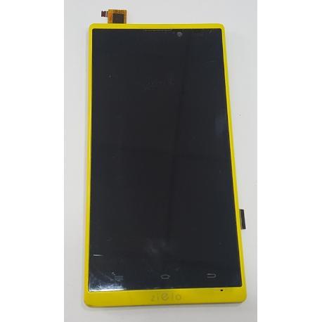 PANTALLA LCD DISPLAY + TACTIL CON MARCO ORIGINAL PARA WOXTER ZIELO Z -400 - RECUPERADA