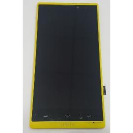 PANTALLA TACTIL + LCD DISPLAY CON MARCO ORIGINAL PARA WOXTER ZIELO Z-420 HD , Z-800 HD - RECUPERADA