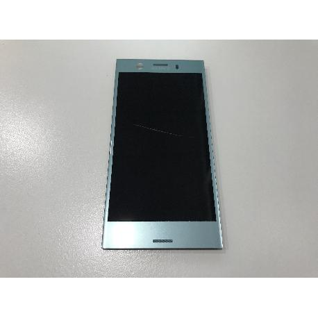 PANTALLA LCD DISPLAY + TACTIL  ORIGINAL PARA SONY XPERIA XZ1 COMPACT G8441 - AZUL RECUPERADA