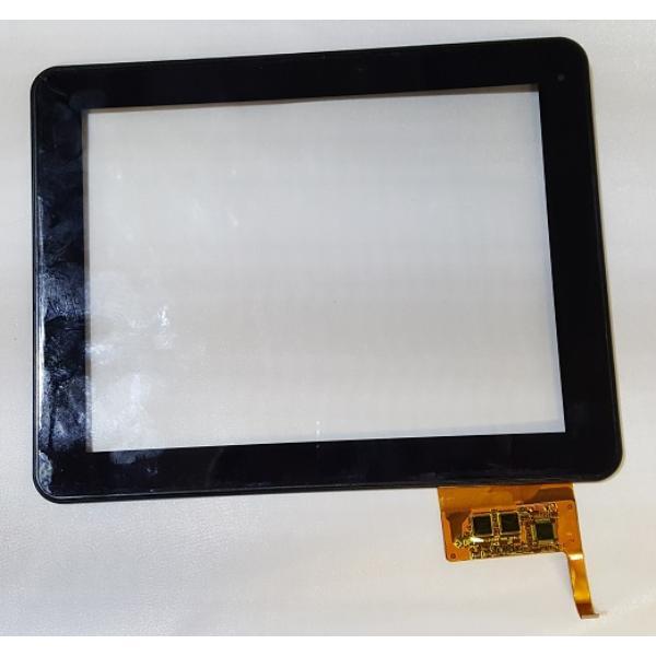 PANTALLA TACTIL CON MARCO ORIGINAL PARA WOXTER TABLET PC 98 IPS DUAL - RECUPERADA